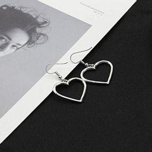 Boucles d'oreilles Style géométrique Punk Boucles d'oreilles Boucles d'oreilles pour femmes Boucles d'oreilles Boucles d'oreilles simples Bijoux d'oreille17 (Graceguoer, neuf)