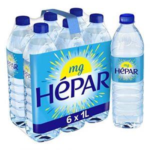 Hépar - Eau Minérale 6X1L - Livraison Rapide En France - Prix Par Unité (Franc shopping, neuf)