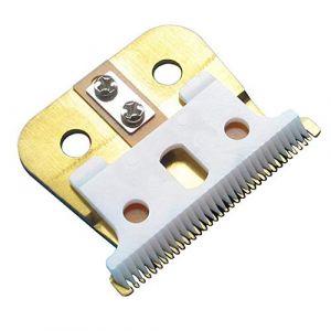 Jeu de lames de rechange en acier et en céramique Remplacement de la lame T-Outliner pour coupe-cheveux ANDIS GTX pour tondeuse à cheveux électrique (rosmii, neuf)