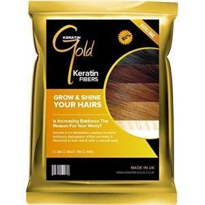 Keratin Goldtm épaississant Fibre capillaire/fibre recharge (perte de cheveux & Effiler Solution) (mo-bros, neuf)