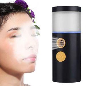 PulvéRisateur Nano Facial Brume 20ml, Outil D'Atomisation Portatif Nettoyage Visage, Hydratation Hydratante Maquillage RafraîChissante, PulvéRisateur Fumant Visage Rechargeable USB(2#) (salmueu, neuf)