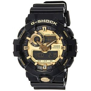 G-Shock Men's GA710GB-1ACR Watch Black Gold (Cluburban USA, neuf)