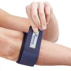 Actesso Bleu Bracelet Anti Épicondylien - Soulagement de Coudière pour Tennis et Golf Elbow, Coude Tendinite et Sport (Actesso Medical Supports Limited, neuf)