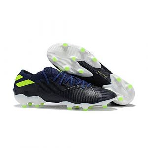 JLKJBH Chaussures de Foot Chaussures de Football à Crampons Chaussures de Football à Lacets Tissu Extensible Carly Chaussures d'entraînement Pâturage Naturel Hommes (junlianxiantuolingbaihuodian, neuf)