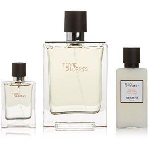 Hermes Eau De Cologne + Eau De Cologne Mini + Après-Rasage Terre D'Hermes - 1 Pack (RA-Trading, neuf)