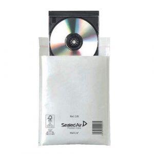 Mail-Lite - C/0 - JL0 - Lot de 100 enveloppes à bulles 150 x 210 mm Blanc (JECO-DISTRIBUTION, neuf)