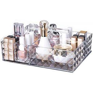 Organisateur De Maquillage, Boîte De Rangement/Haute Qualité Acrylique/Multifonction/Grande Capacité/Économiser De L'espace/Sans Odeur/Lissage D'angle (oyang, neuf)