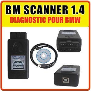 Valise Interface Diagnostic pour BMW - Scanner 1.4 K+DCAN (Boutique-Mister-Express, neuf)