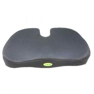 SVIVI coussin de gel en forme de U, coussin pour fauteuil roulant, anti-decubitus hémorroïdes coussin (assurance de la qualité),Black (Letter trade, neuf)