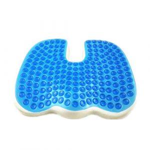 SVIVI coussin de gel en forme de U, coussin pour fauteuil roulant, anti-decubitus hémorroïdes coussin (assurance de la qualité),Blue (Letter trade, neuf)