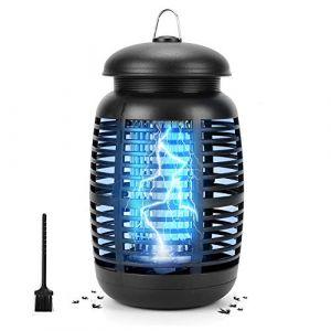 HALOVIE Lampe Anti Moustique, Tue Mouche Electrique UV 15W LED Tueur de Moustiques Intérieur Extérieur Destructeur d'Insectes Répulsif Piège à Moustique Mouche Moucheron, 80m² Efficace Puissant Sûr (SKYSPER Direct, neuf)