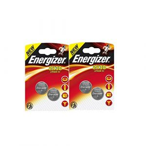 4 x piles Piles ENERGIZER CR2430 Pile Bouton Au Lithium 3 V (Horlogerie, neuf)