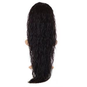 Extension Ondulation Egyptienne Brun/Noir | Extension Capillaire une pièce |Légère texture gaufrée | Raie en forme de V (Hair By MissTresses, neuf)