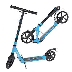 Apollo XXL Wheel Scooter 200 mm - Spectre Pro Bleu est Un Trotinette City Scooter de à Double Suspension, XXL City-Roller Pliable et réglable en Hauteur, Trottinette (geschenk-kiosk, neuf)