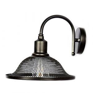 E27 Vintage Maille Murale Applique Retro Métal Plafonniers Lustres Lampe Réglable Luminaires Plafonnier Suspension Industrielle Chambre Applique (Type 3) (WanLianInc, neuf)