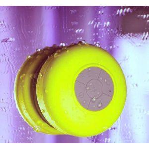 Evotouch-Enceinte Bluetooth Sans fil Portable Stéréo Mini Enceinte étanche Résistant aux éclaboussures 4 Couleurs (Jaune) (Jane-eyre, neuf)