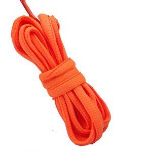 Good.news Lacets Plats, Lacets Ovales, Lacets de Chaussure Neon Orange 160cm (Good.news, neuf)