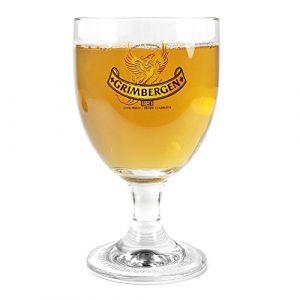TUFF LUV Original Verre à Bière Grimbergen de marque - Verre Chalice (330 ml) (Tuff-Luv, neuf)