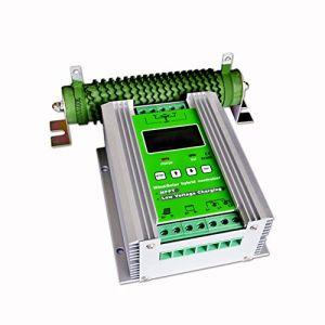 vFound 1000W Contrôleur hybride solaire de type haut de gamme MPPT Wind Panneau de commande 600WW et 400W 12V/24V DC identifiant automatiquement la tension du système(MPPT) (vFound-EU, neuf)