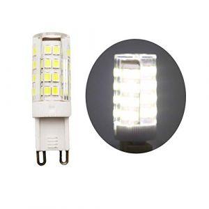 1 pièces G9 Ampoule LED 5W Equivalent 40W Halogène Blanc froid 6000K 400lm AC 220V-240V 360 Degrés D'angle De Faisceau Non-Dimmable (XINYANSEE Official Store, neuf)
