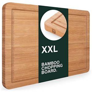 Blumtal Planche A Decouper Bois - Cuisine, Bambou, Grande Taille, 45 x 30cm (Everbrent, neuf)