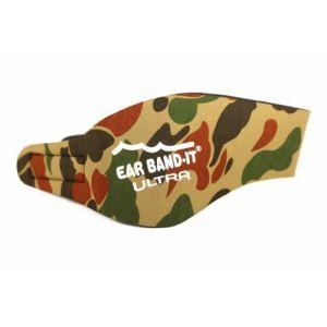 Ear Band-It Natation Bandeau (retenir l' Eau, maintenez Bouchons Oreilles) recommandé par Le médecin et Protection Contre l' Eau Moyen (âges 4-9) Camo (Smallbigdirect, neuf)
