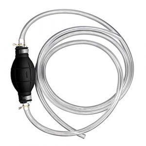 Poire d'amorcage Carburant,Tuyau de Carburant Manuel,Pompe à main Gasoil Diesel Pompe (SHM-R, neuf)