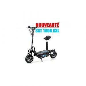 Trottinette électrique SXT Scooter 1000 XXL 1600w Brushless Noire Batterie plomb 48V 12Ah (1001jouets, neuf)
