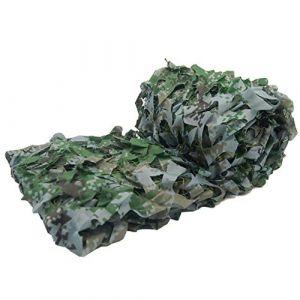 KSS Filet de Ombrage Camouflage Chasse Militaire renforcé Net Blanc Vert Bleu Noir Sable Jungle Couleur, pour Chasse Anti UV Outdoor Loisirs Camping Déco Bars Voiture - Accessoires de Camouflage (KSS Sports, neuf)