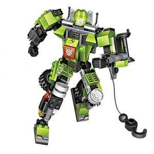 Loz ModulexTF. Kit de Transformers 3 en 1 avec des miniblocs. Vert (Glint Store, neuf)