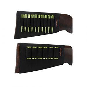 Tourbon Fusil de chasse Fusil munitions élastique manches Buttstock Shotshell Laser support - Rifle+Shotgun (Tourbon Outdoor, neuf)