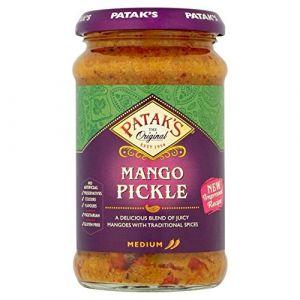 Patak's - Pickles de mangues - mangues en marinade - 2 x 283 g (Jalpur Millers Online, neuf)