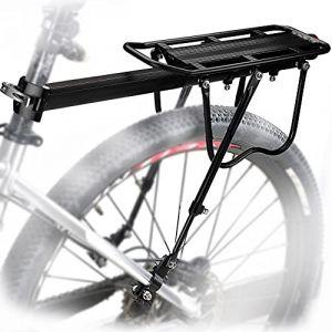 MAIKEHIGH Universel réglable Transporteur Porte-Bagages arrière de vélo de vélo Accessoires Équipement Support footstock Support vélo Racks avec réflecteur (AUTOPkio-EU, neuf)