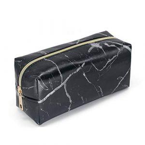 PROKTH Trousse de toilette voyage femmes Trousse de maquillage Organisateur de maquillage Kit de voyage Vanity rigide (Zhuoshilang®, neuf)