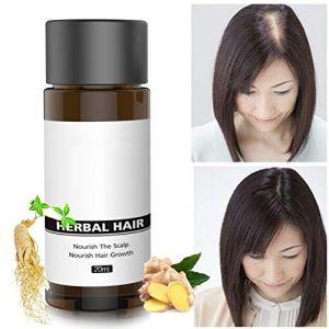 Symeas Croissance des cheveux essence de gingembre lotion capillaire nourrissant cuir chevelu racine des cheveux anti-chute cheveux croissance liquide (Someas, neuf)