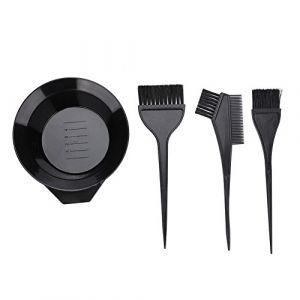 Brosse de coloration, Dekaim 4pcs Brosse de coloration des cheveux et ensemble de bol Outils de coloration de salon de coiffure professionnels (Solomi, neuf)