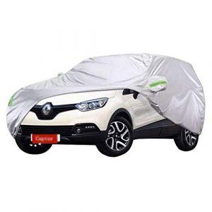 LXY1,Bâche Voiture Renault Captur SUV Tissu Oxford épais Protection contre le soleil pour l'extérieur Protection contre la pluie (taille : 2015) (Denim Home, neuf)