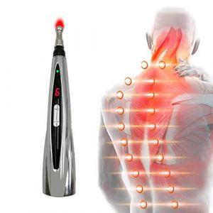 Le stylo Meridian, le stylo acupoint Electro-acupuncture peut soulager la douleur, traiter le massage électronique au stylo d'énergie Meridian, adapté au cou et au cou du corps (DuoBaiHuoDian, neuf)