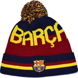 Bonnet Pompon Barça - Collection officielle FC BARCELONE - Taille homme [Divers] (MISTERLOWCOST, neuf)
