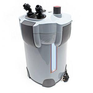 SunSun HW-404B Aquarium Bio Filtre extérieur 2000l/h avec 9W CUV 4-Phases Matériaux et Pompe (WilTec Wildanger Technik GmbH, neuf)