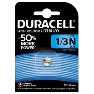 DURACELL Duracell Lithium pile bouton photo, CR1/3N, DL1/3N, 3V - 1 pièce (Stock Bureau Direct, neuf)
