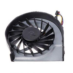 BASSK Ventilateur de refroidissement pour ordinateur portable Cooler 4 broches 5 V 0,5 A pour HP Pavilion G4-2000 G6-2000 G6-2100 G6-2200 G7-2000 (BASSK, neuf)