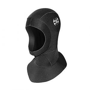 PAWHITS Cagoule néoprène Thermique de Combinaison Cagoule de plongée intégrale imperméable 3mm pour plongée sous-Marine Natation Surf Snorkeling pour Femme Homme (M) (PAWHIT, neuf)