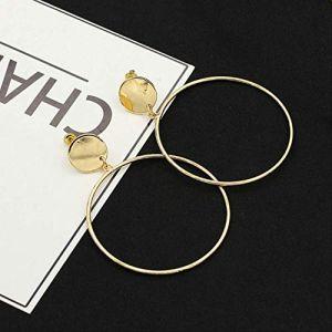 Épingles d'oreille Géométrique Punk Style Boucles d'oreilles Boucles d'oreilles pour femmes Boucle d'oreille Boucles d'oreilles simples Bijoux d'oreille10 (Graceguoer, neuf)