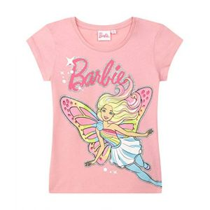 Barbie Tee-Shirt Fille Rose 5 Ans (Young and Cheeky, neuf)
