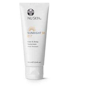 NU SKIN CRÈME SOLAIRE Sunright® 50 Nuskin aident à vous protéger des signes visibles du photo-vieillissement (Bien-être-en-soi, neuf)