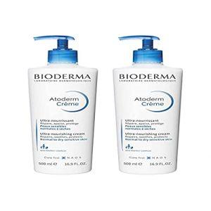 Bioderma - ATODERM Crème FL pompe - lot de 2 - 500+500 ml (parapromos, neuf)