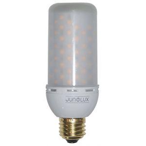 JUNOLUX Burning LED Ampoule flamme Flicker Fire Effet ampoule lampe déco d'économie d'énergie Ampoules Eco Friendly Décoration Intérieur ou Extérieur, décoration festival, rétro, vintage Lot de 1 (JUNOLUX, neuf)