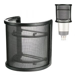YOUSHARES Micro Filtre Anti Pop en Pare-Brise Anti Vent Anti Pop pour Bird UM1 Microphone et La plupart des Microphone (Heartorigin-FR Direct, neuf)