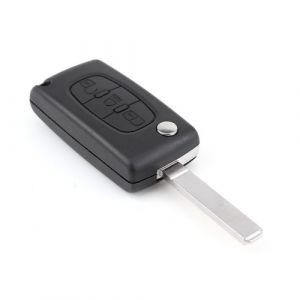Coque CLE pour telecommande CITROEN C2 C3 C5 C6 C4 Picasso pliable 3 boutons (New Run, neuf)